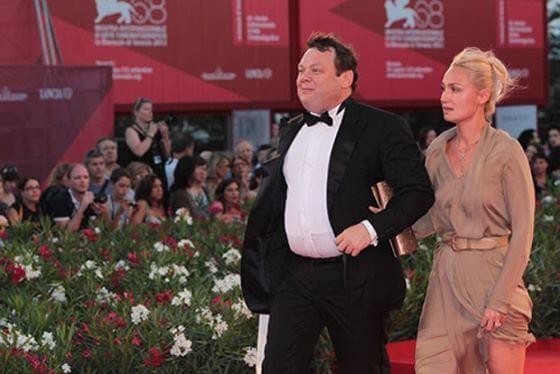 Фридман с женой