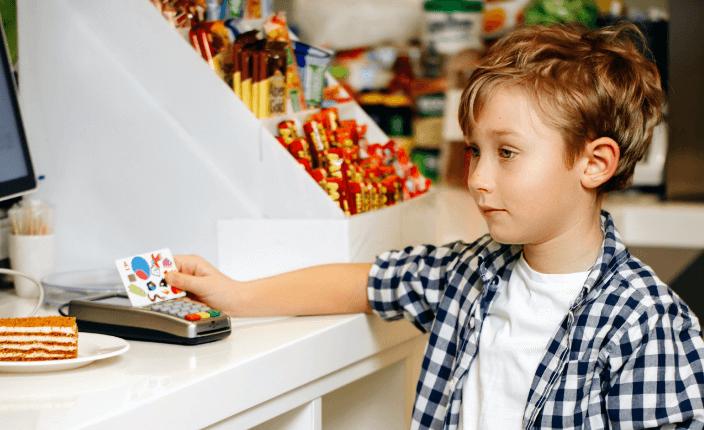 Оплата детской картой